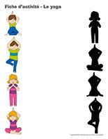 Fiches d'activité-Le yoga