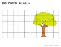 Fiches d'activité-Les arbres-1