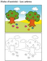 Fiches d'activité-Les arbres