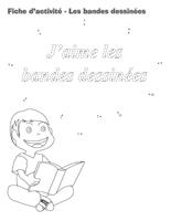 Fiches d'activité-Les bandes dessinées