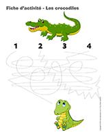 Fiches d'activité-Les crocodiles
