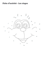 Fiches d'activité-Les singes
