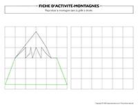Fiches d'activité-Montagnes