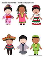 Fiches d'activité-Multiculturalisme
