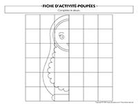 Fiches d'activité-Poupées