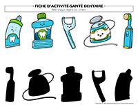Fiches d'activité-Santé dentaire