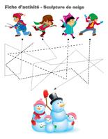Fiches d'activité-Sculpture de neige
