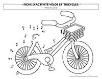 Fiches d'activité Vélos et tricycles