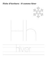 Fiches d'écriture-H comme hiver-2