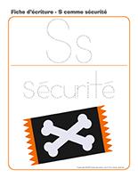 Fiches d'écriture-Halloween-La sécurité