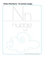 Fiches d'écriture-N comme Nuage-2