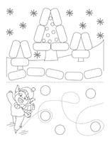Fiches éduca-nouilles-Les vacances de Noëll