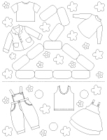 Fiches éduca-nouilles-Les vêtements