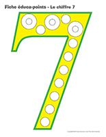 Fiches éduca-points-Le chiffre 7