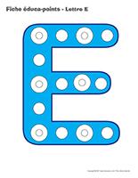 Fiches éduca-points-Lettre E