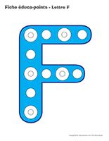 Fiches éduca-points-Lettre F