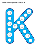Fiches éduca-points-Lettre K