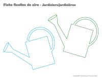 Fiches ficelles de cire-Jardiniers-Jardinières