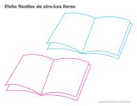 Fiches ficelles de cire-Les livres