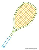 Fiches ficelles de cire-Sports d'été-2