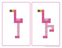 Flamants-blocs Lego