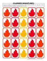 Flammes miniatures