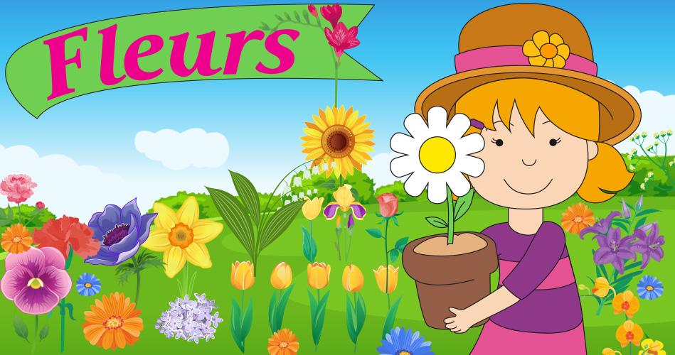 Les Fleurs Activites Pour Enfants Educatout