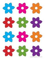 Fleurs de couleur