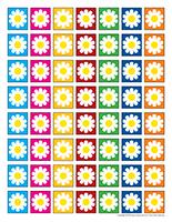 Fleurs miniatures chercher jeu activité