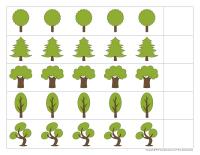 Forêt de formes