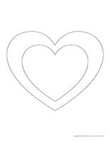 Formes-cœurs