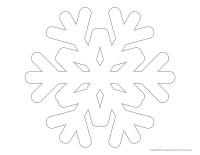 Formes-flocons de neige