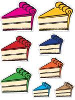 Gâteaux-colorés