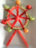 Grande roue fruitée