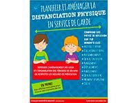 Guide reflexif sur la distanciation physique en service de garde
