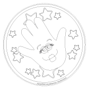 Guirlande - Des pieds et des mains