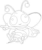 Guirlande - Les abeilles