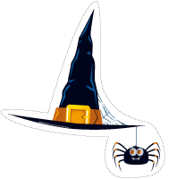 Guirlande-Halloween-Dans le noir