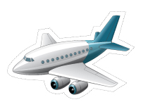 Guirlande-Le transport aérien