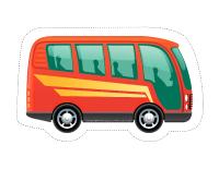 Guirlande-Le transport en commun