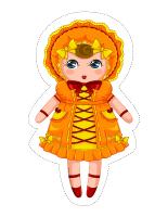 Guirlande-Les poupées