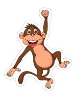 Guirlande-Les singes