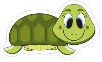 Guirlande-Les tortues