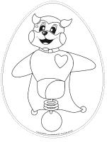 Guirlande de Pâques - Poni