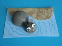 Hippopotame dans l'eau-1