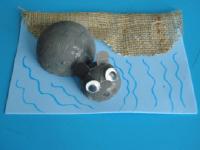Hippopotame dans l'eau-7