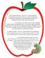 Histoire-Les pommes