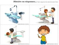Histoire en séquence-La santé dentaire