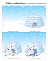 Histoire en séquence-Le monde polaire