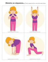 Histoire en séquence-Le yoga